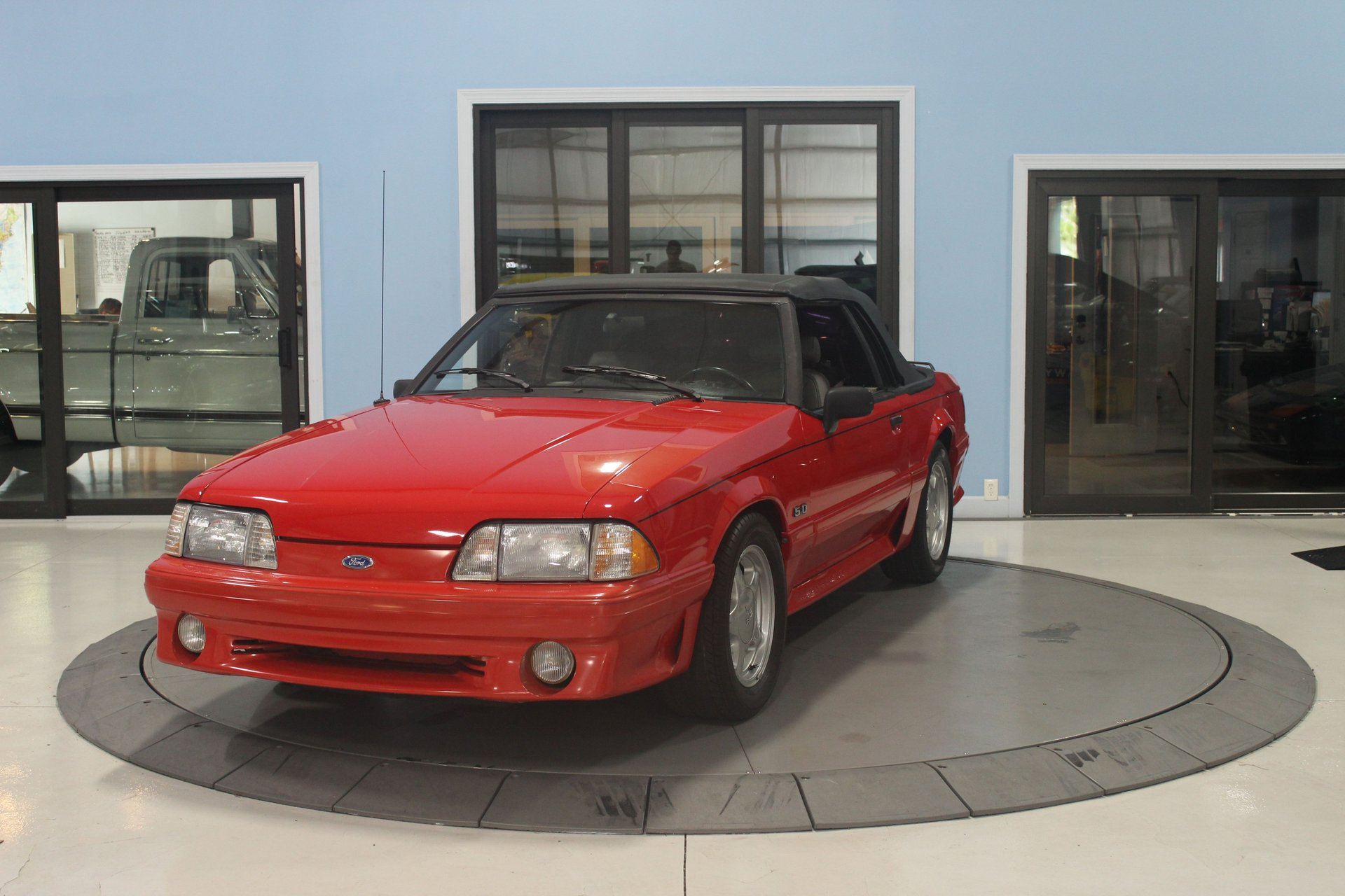 1993 ford mustang 2dr gt convertible