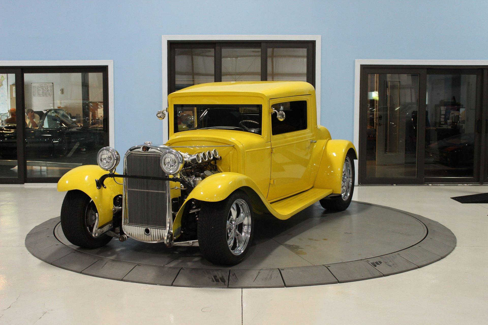 1930 oldsmobile 3 window resto mod