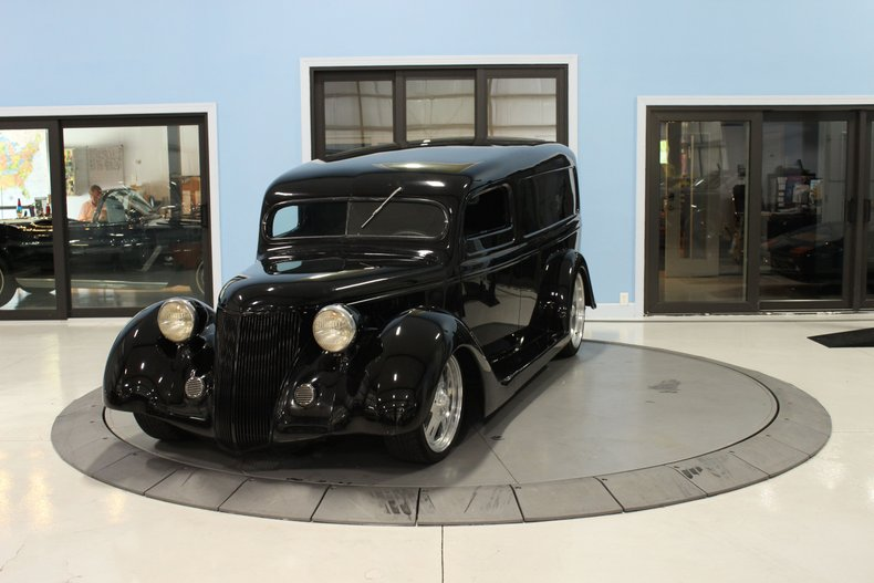 1937 Ford 3 Window Panel Van