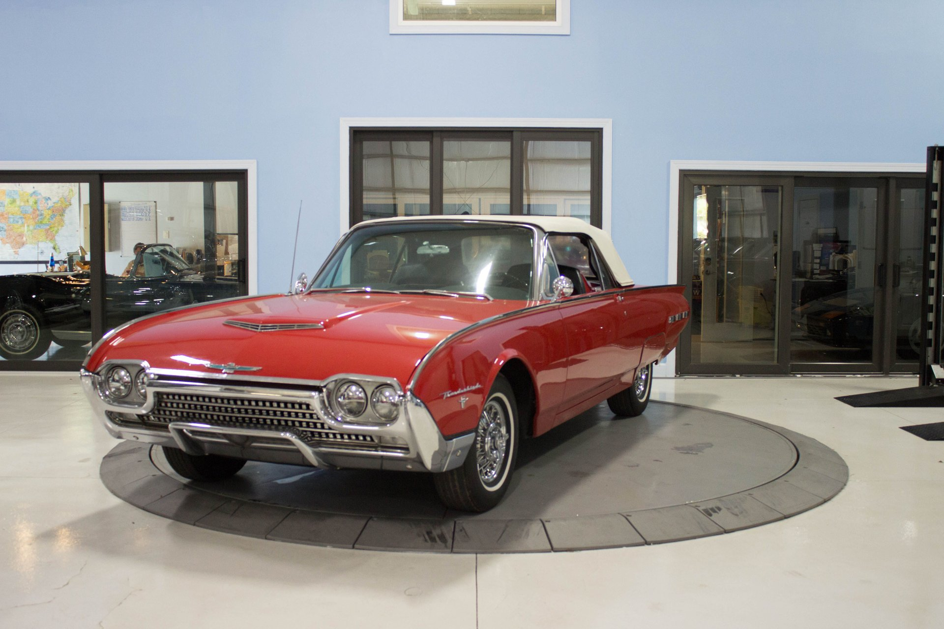1962 ford thunder bird convertible