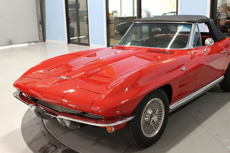 1964 Chevrolet Corvette Convertible 9