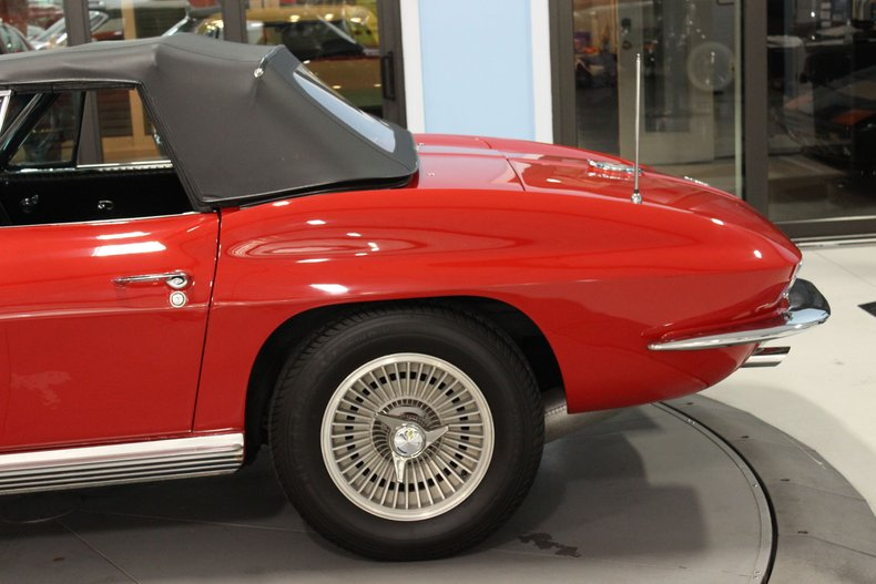 1964 Chevrolet Corvette Convertible 17
