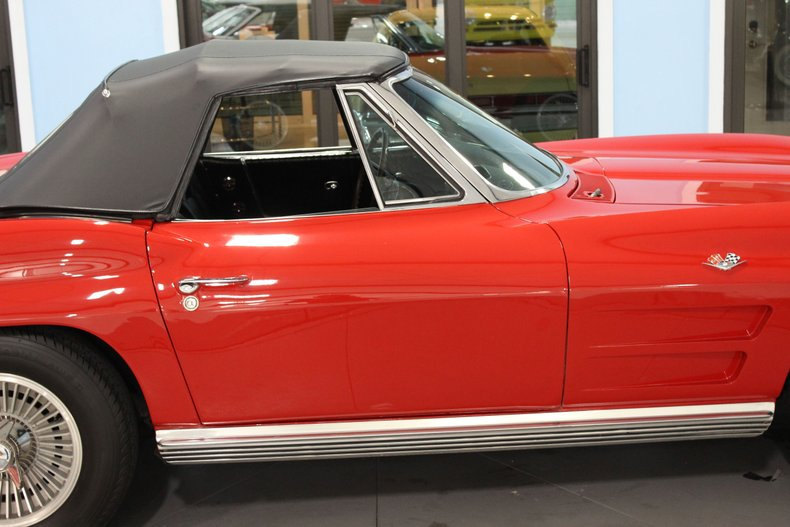 1964 Chevrolet Corvette Convertible 21