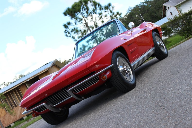 1964 Chevrolet Corvette Convertible 34
