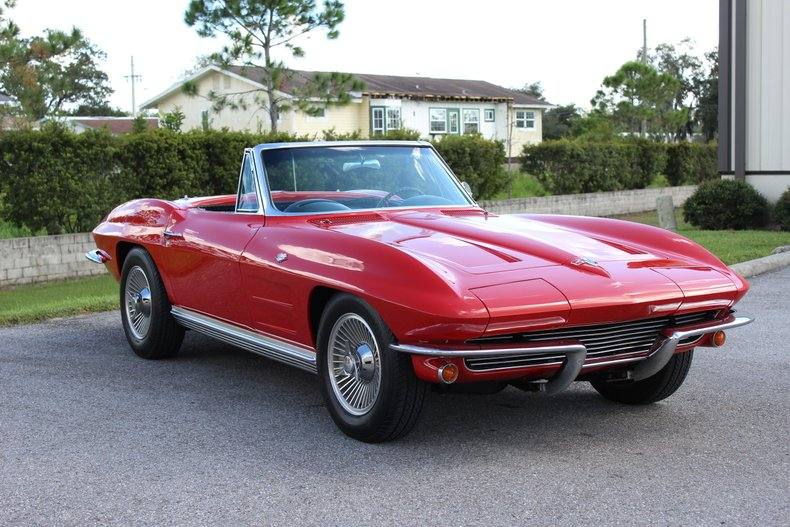 1964 Chevrolet Corvette Convertible 35
