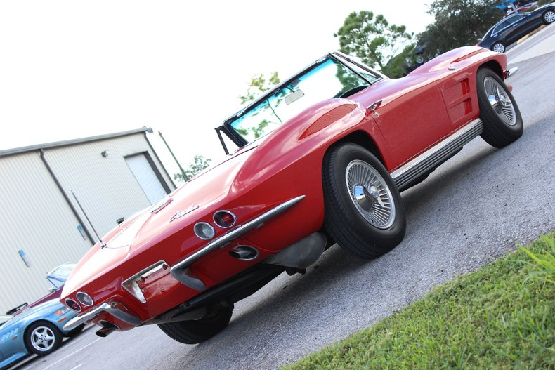 1964 Chevrolet Corvette Convertible 37