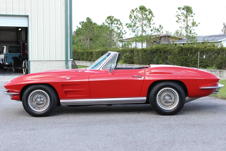 1964 Chevrolet Corvette Convertible 39