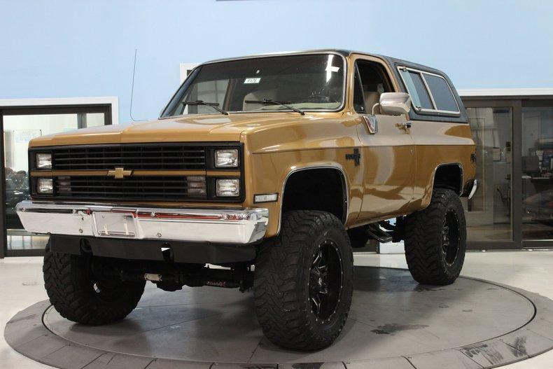 1984 Chevrolet K-5 Blazer