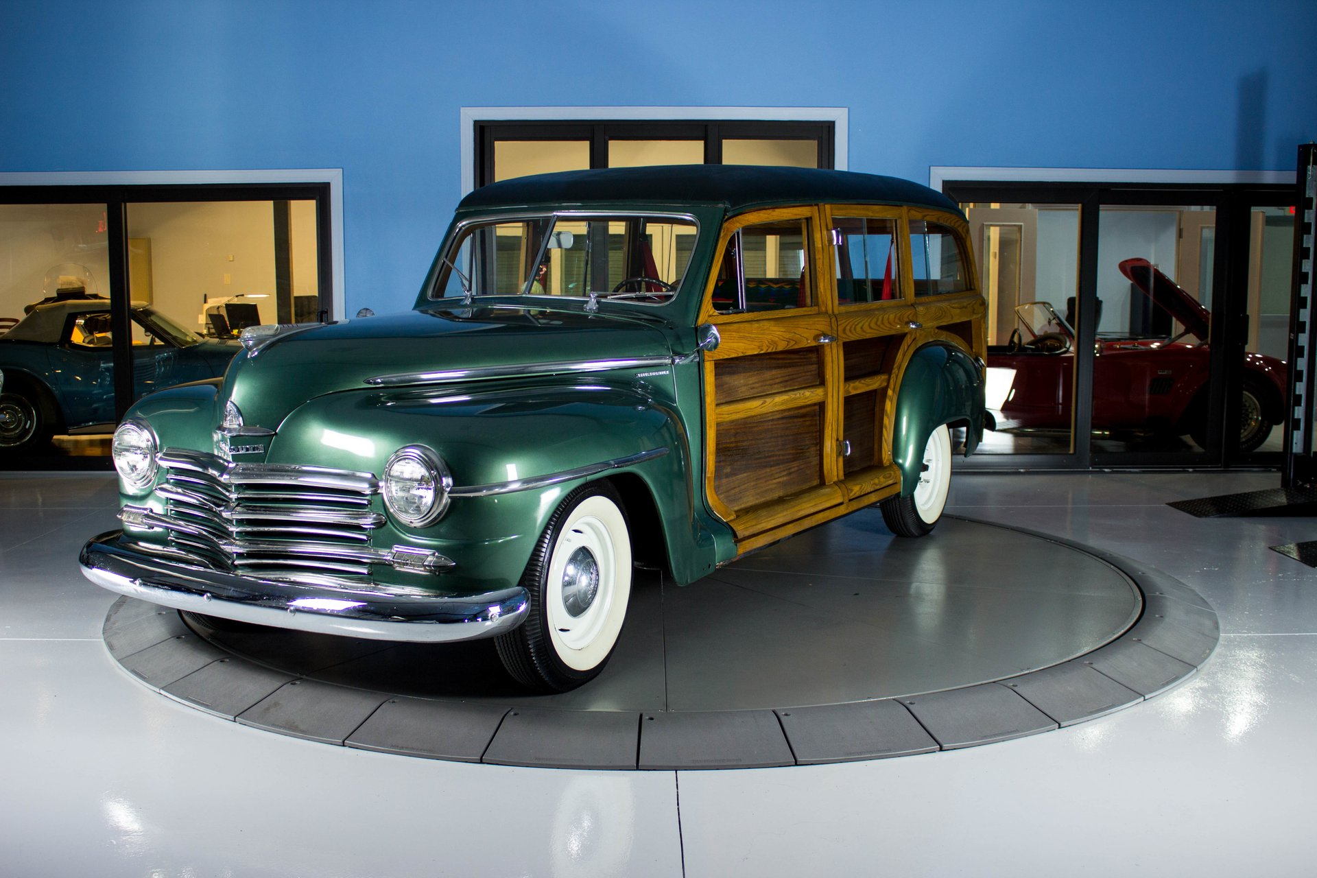 1948 plymouth woody