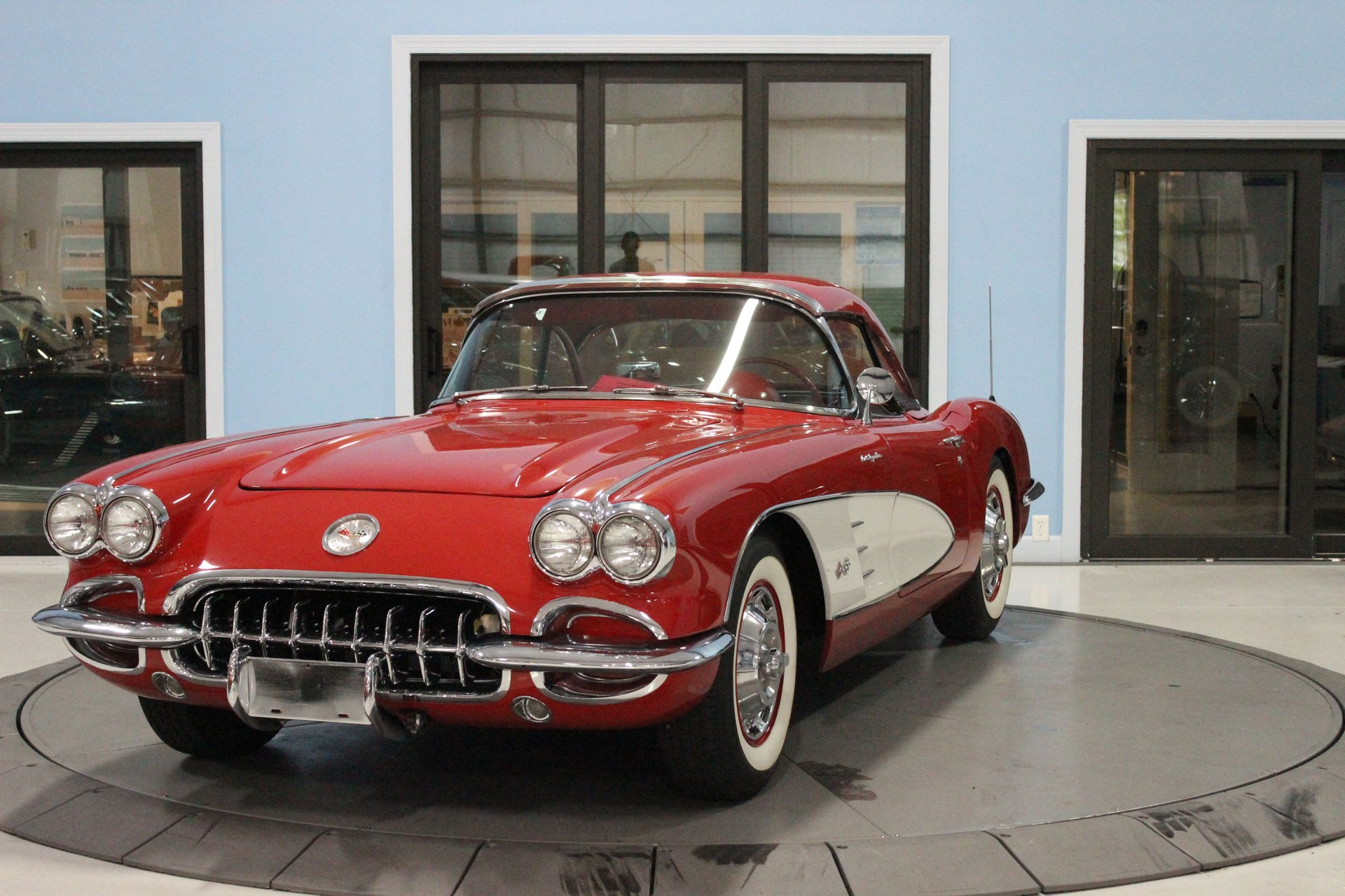 1960 chevrolet corvette fuelie