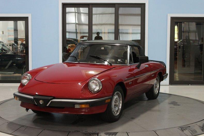 1986 Alfa Romeo Graduate For Sale