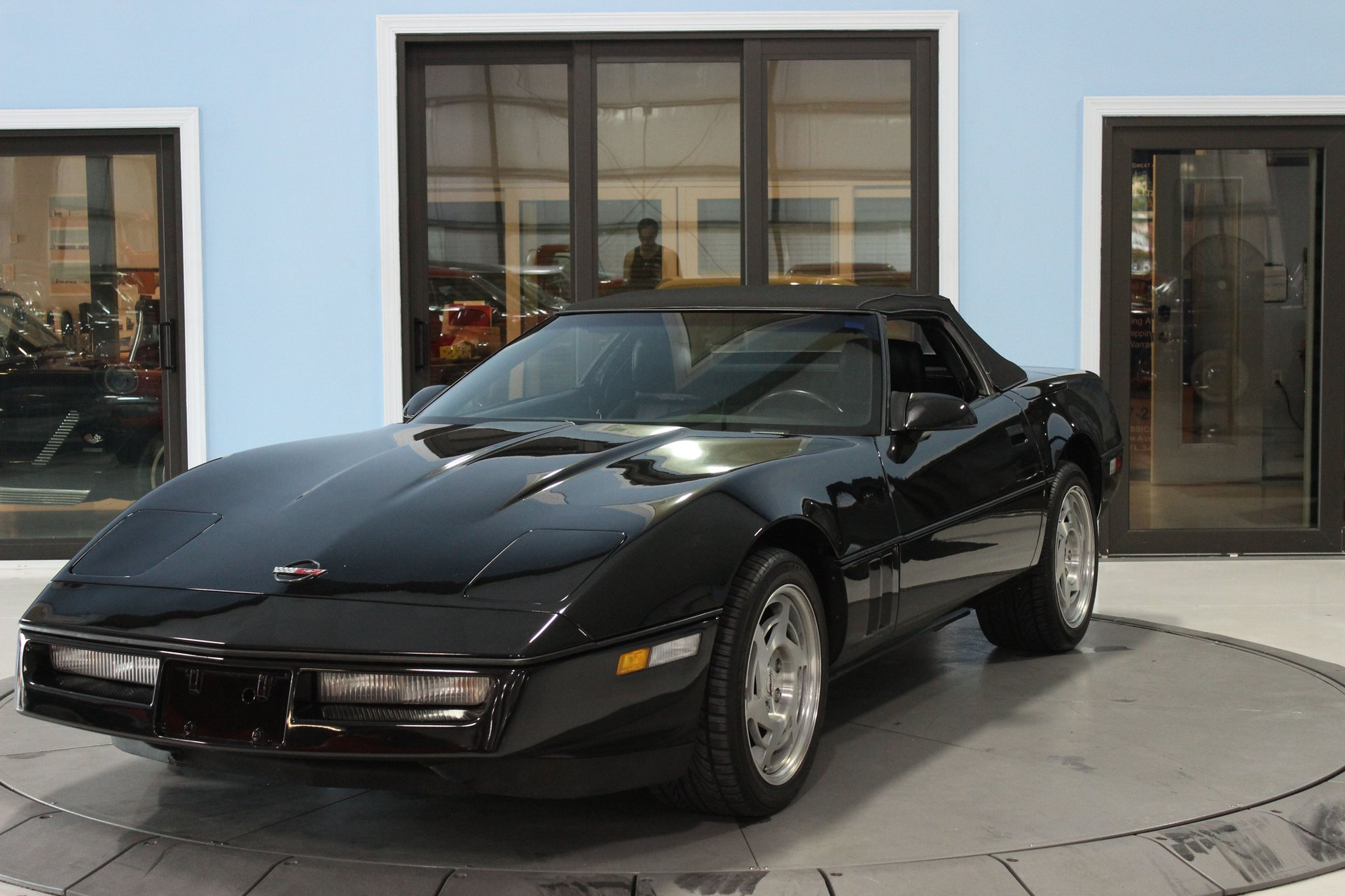 1990 chevrolet corvette 2dr convertible