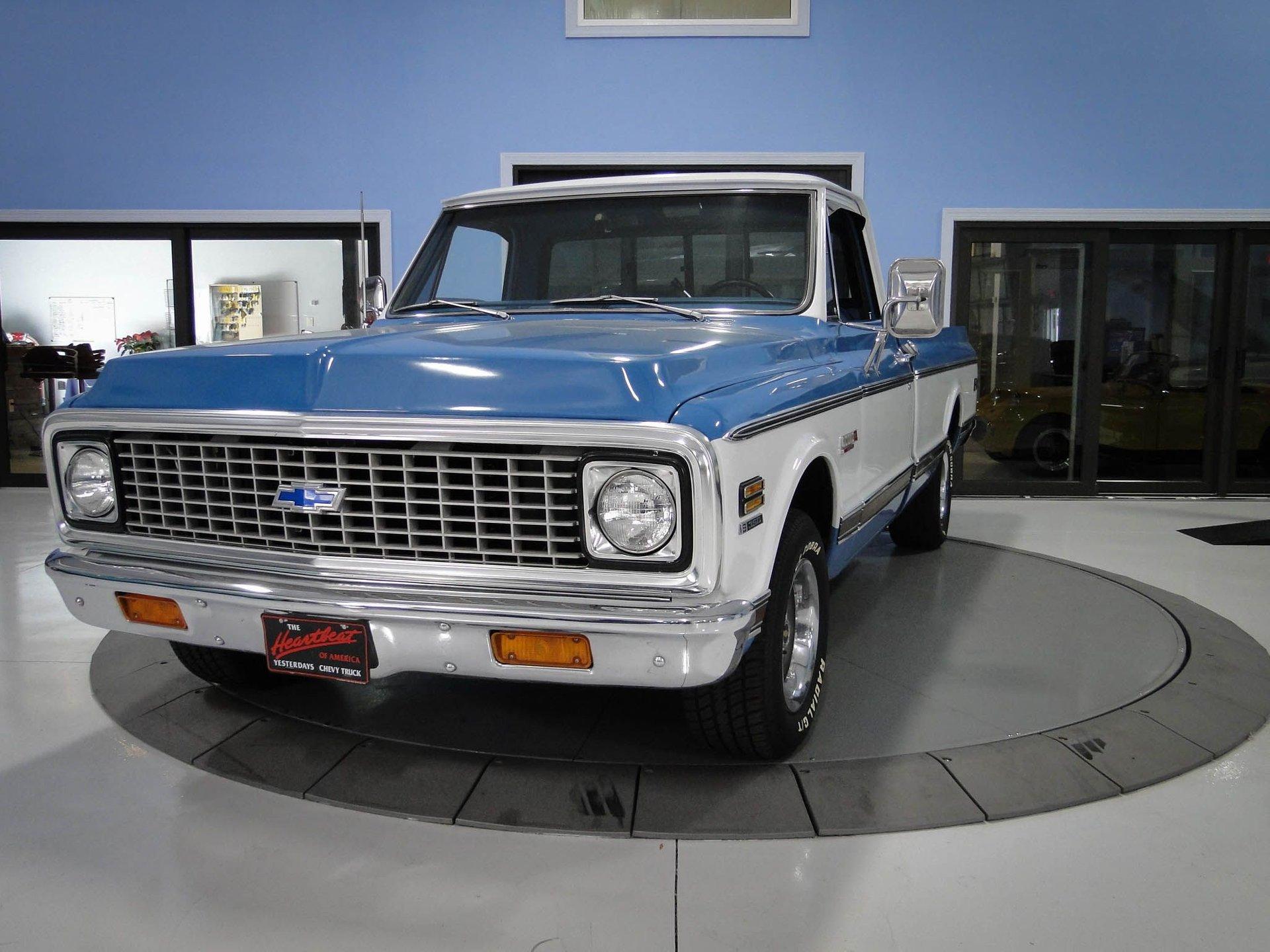 1972 chevrolet 1 1 2 ton pickup super