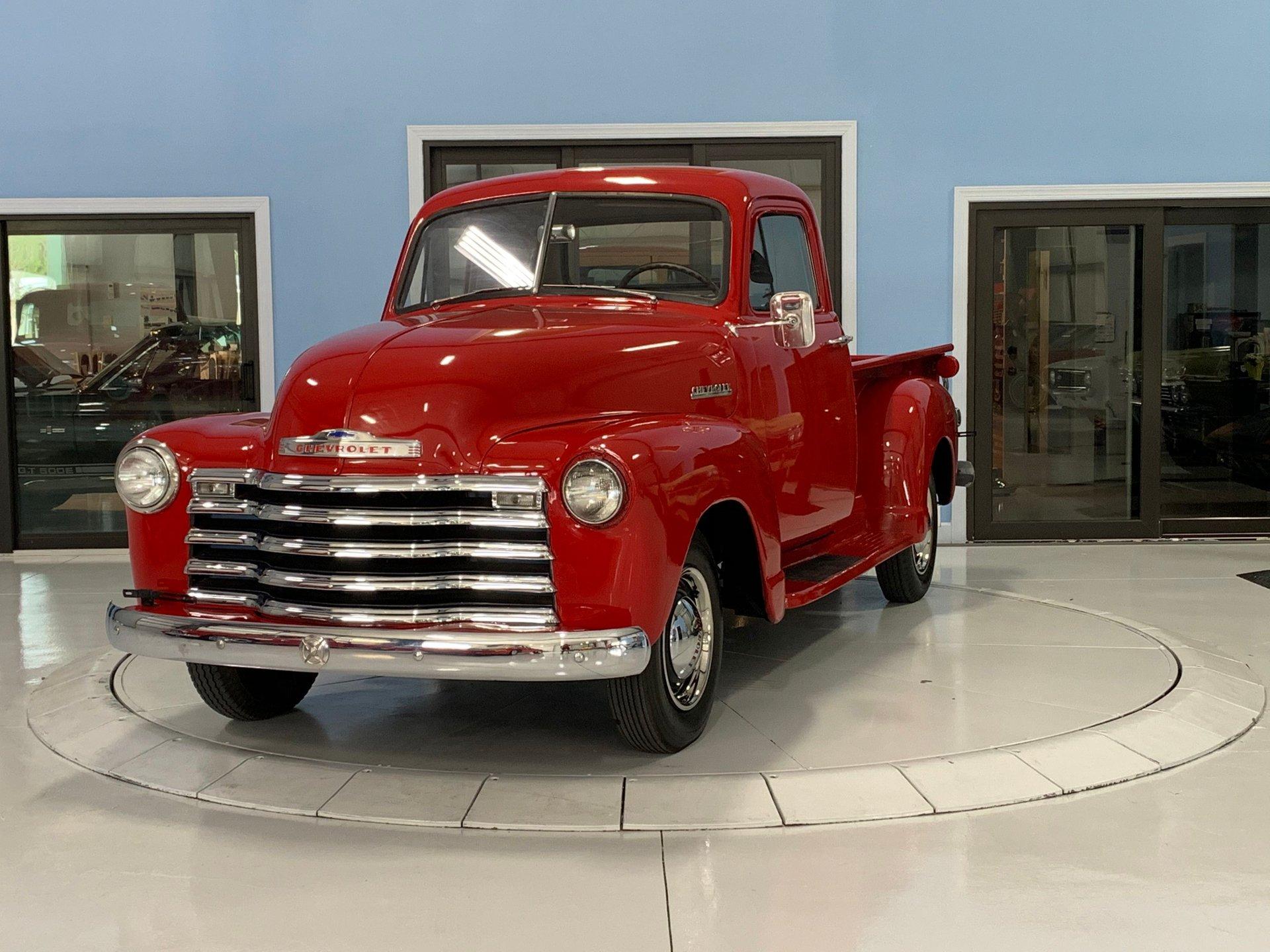 1952 chevrolet p u truck