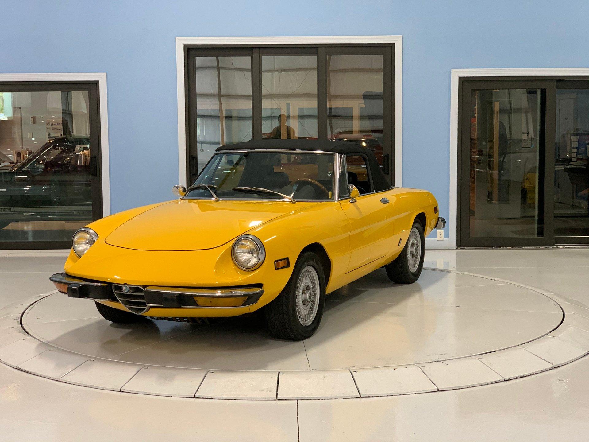 1974 alfa romeo 1300 spider