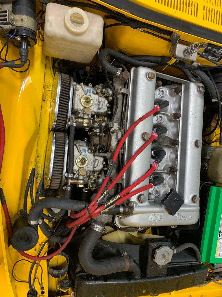 1974 Alfa Romeo 1300 Spider 13