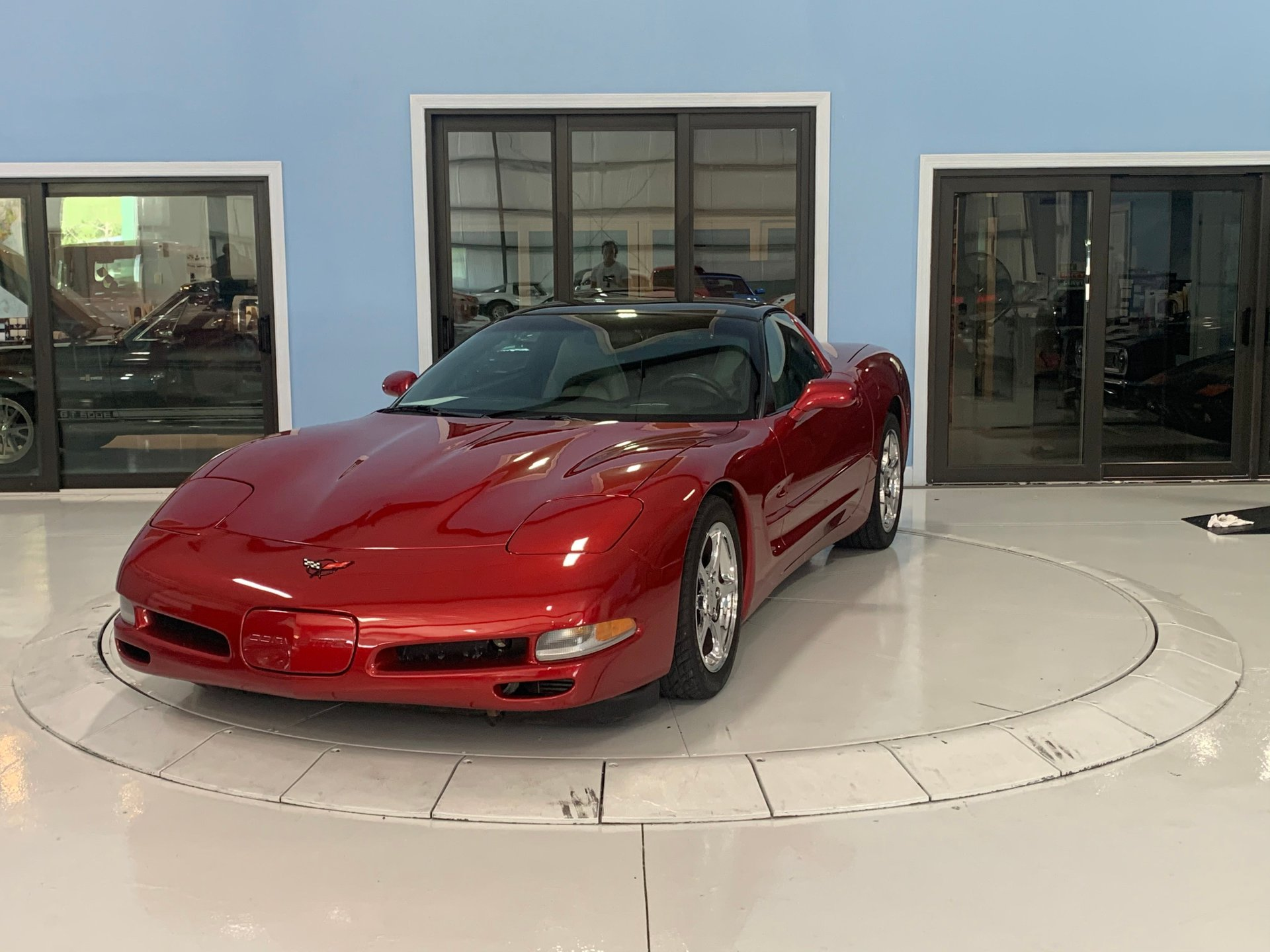 2000 chevrolet pro charged corvette