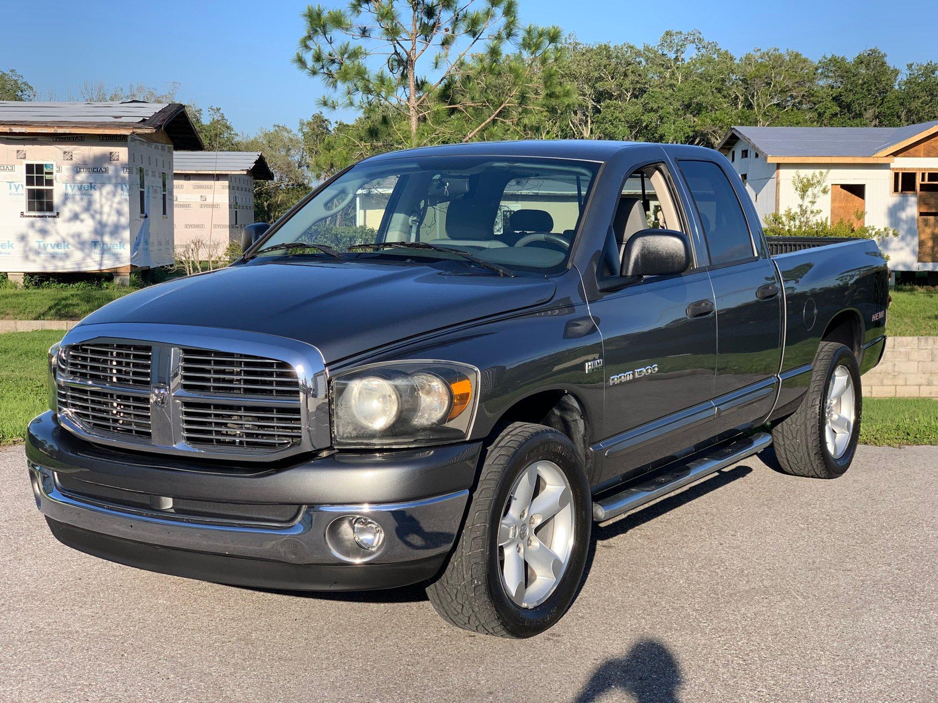 2007 dodge 1 1 2 ton pickup