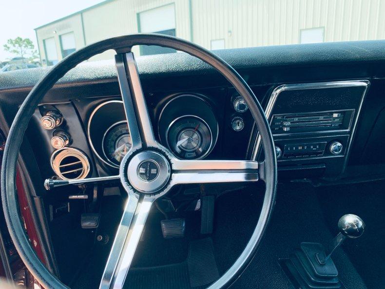 1968 Chevrolet Camaro 30