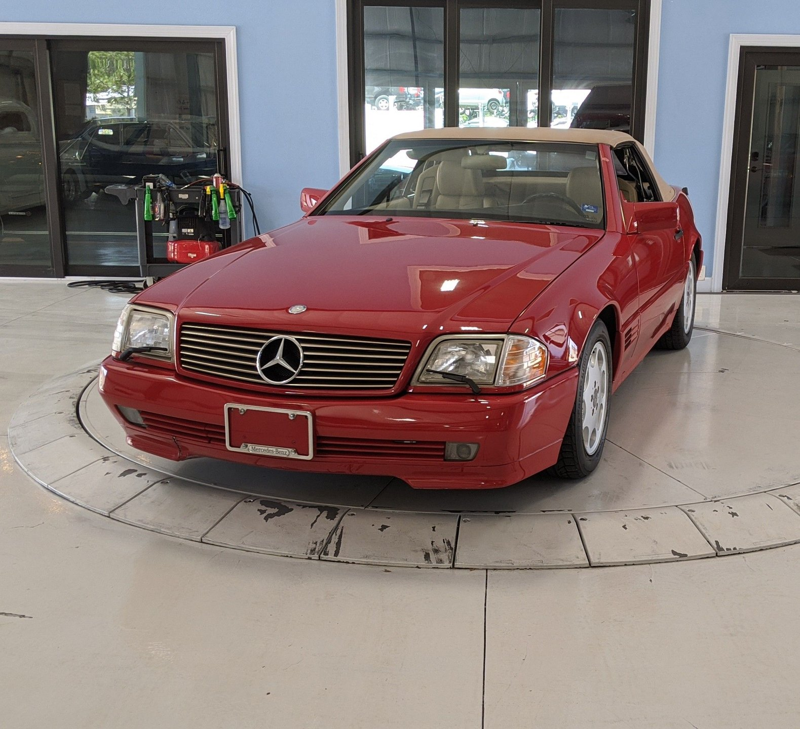 1991 mercedes benz sl 500