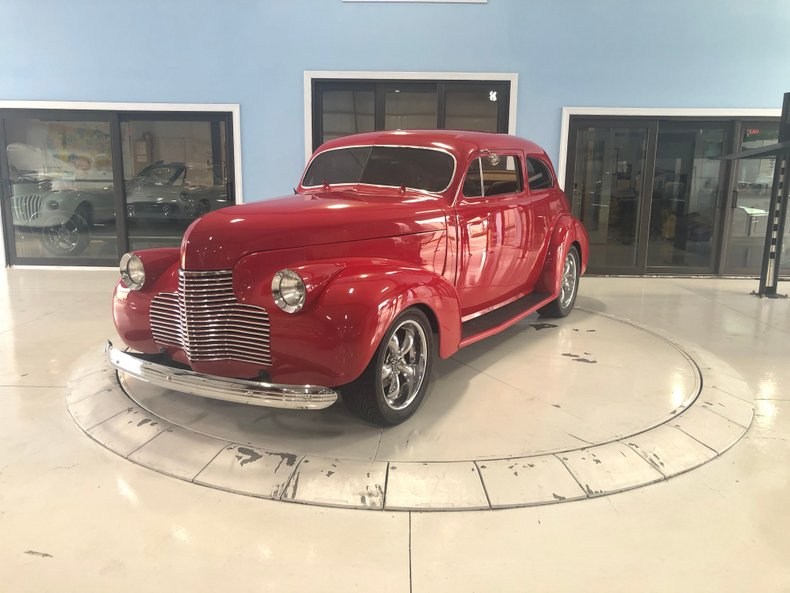1940 Chevy Deluxe Business Coup