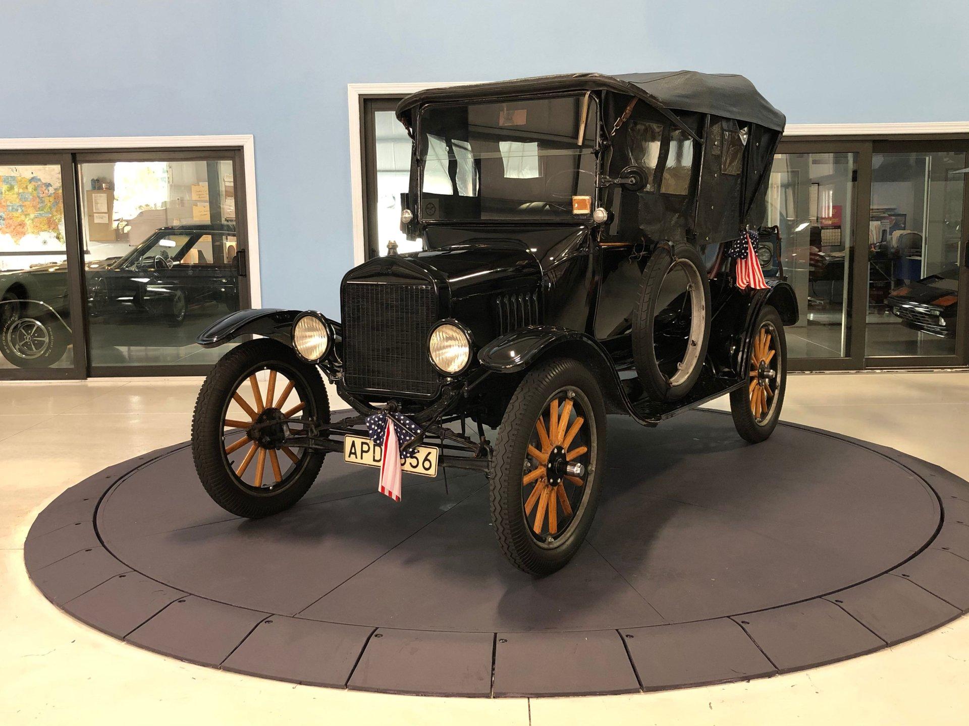 1922 model t 3 door touring