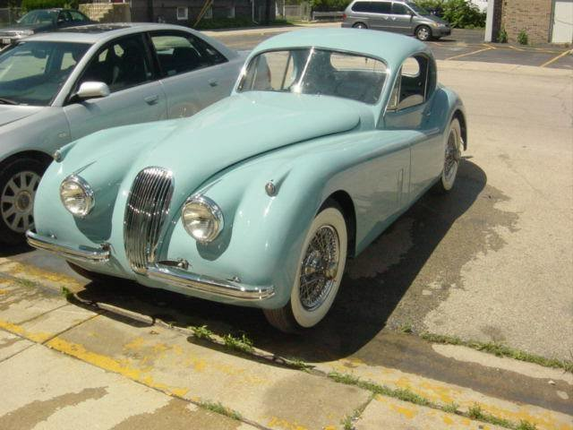 1953 Jaguar XK120 SE
