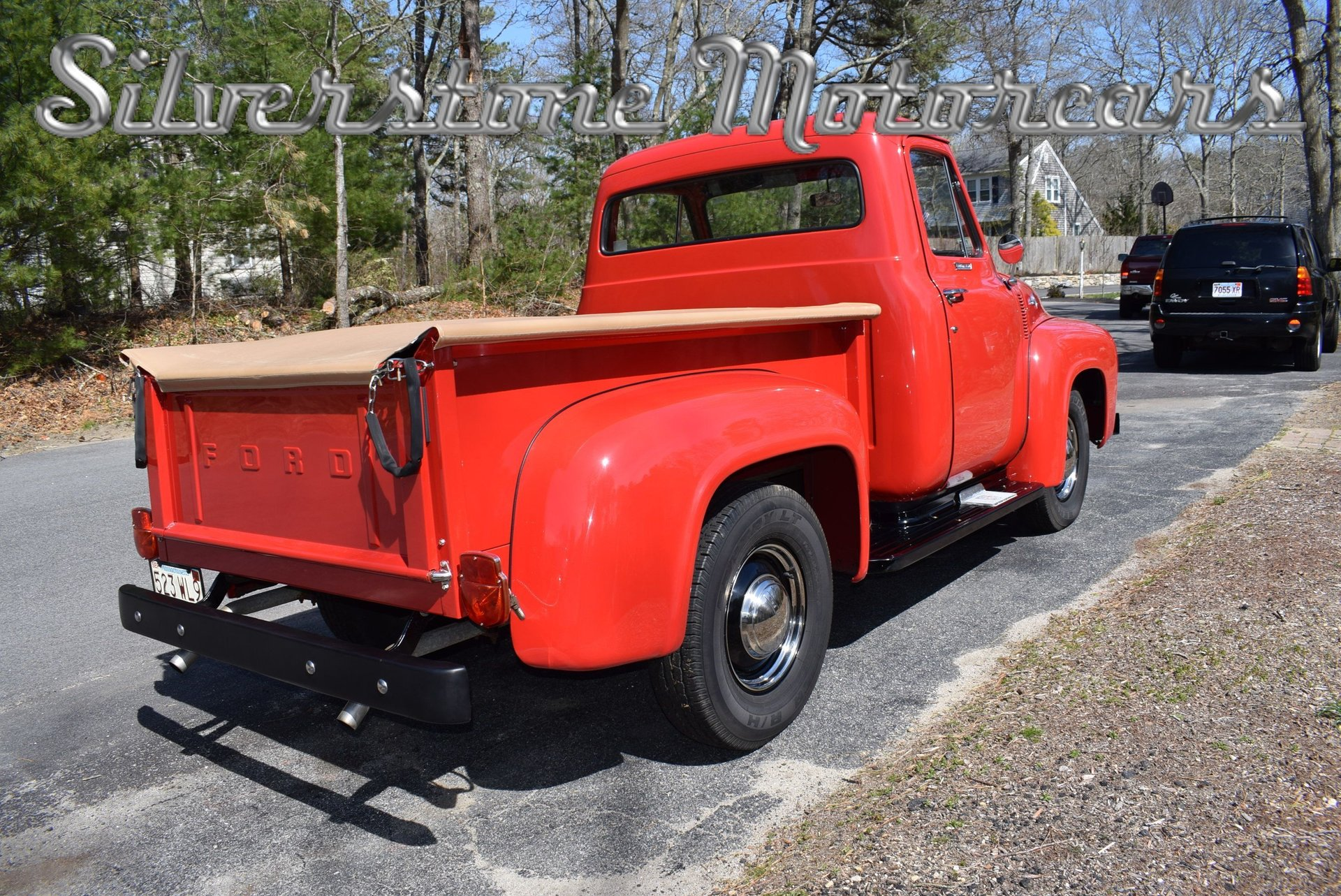 1955 Ford F100 Silverstone Motorcars Paint