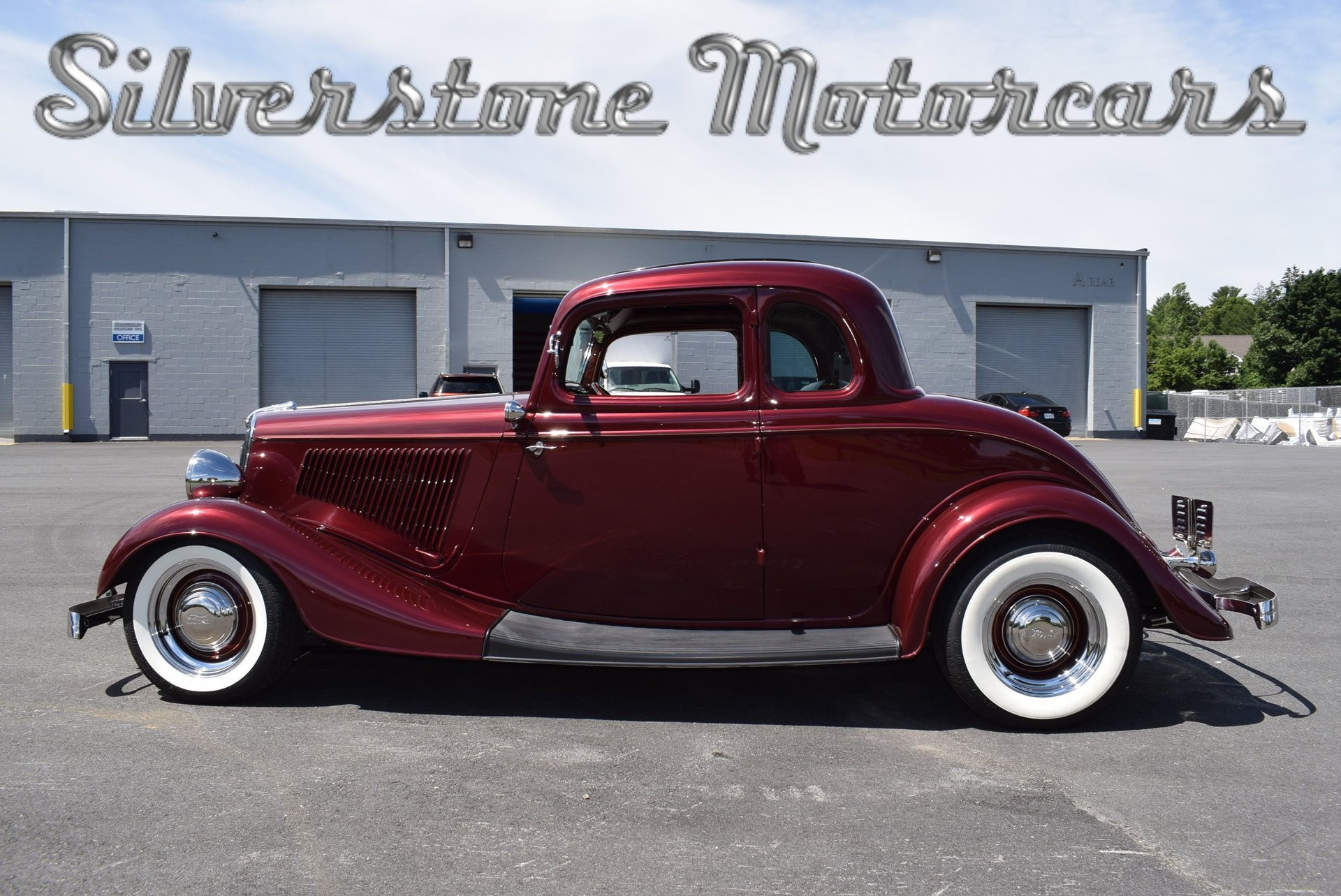 1934 Ford 5 Window Coupe | Silverstone Motorcars