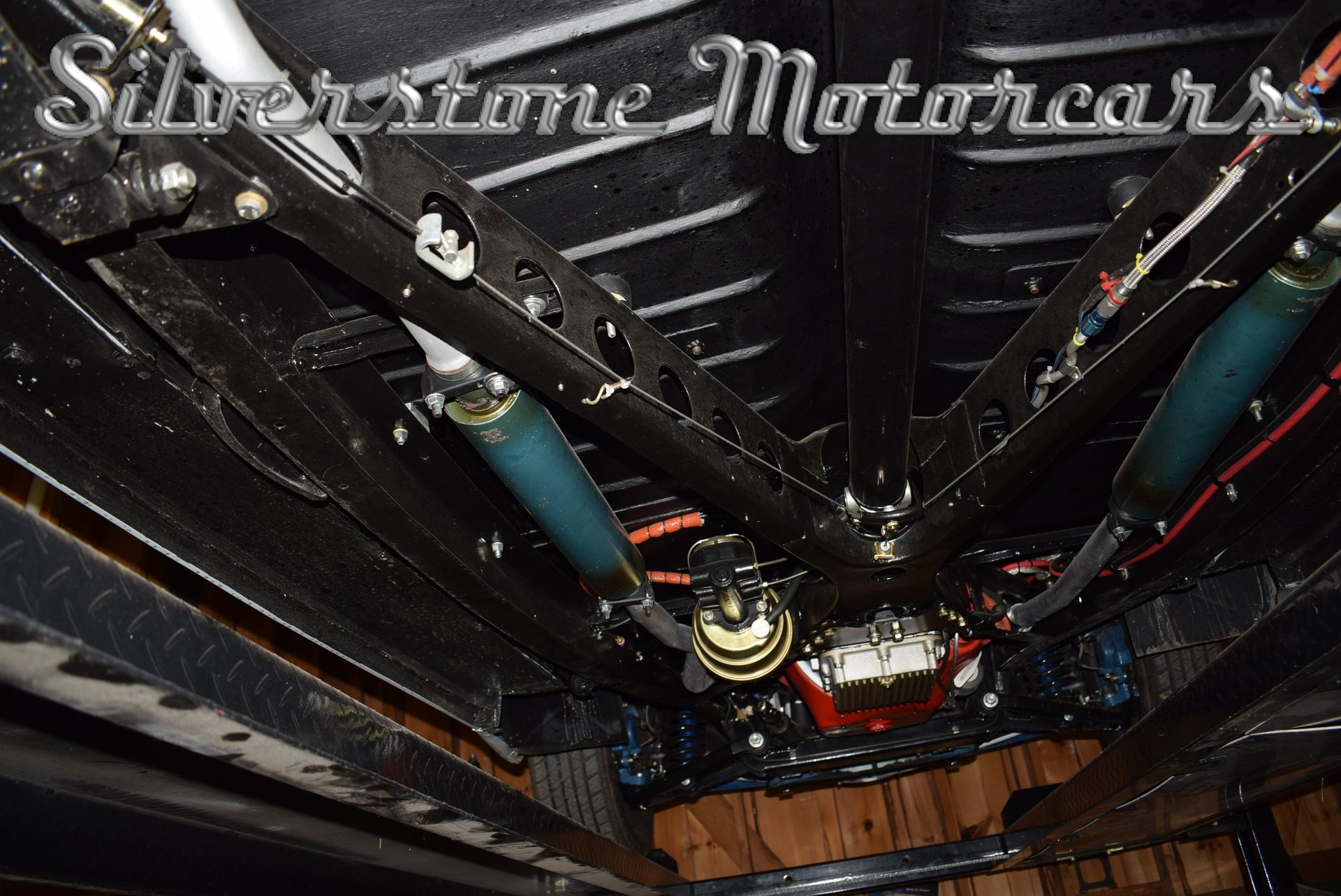1941 Ford Sedan Silverstone Motorcars Vin Location