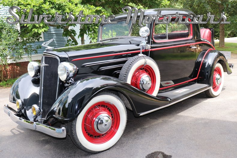 1934 Chevrolet 3-Window Coupe For Sale