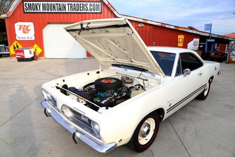1968 Plymouth Barracuda Formula S 383 - Smokey Mountain Traders