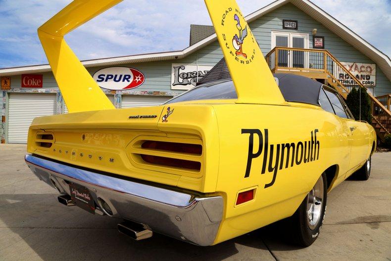 1970 Plymouth Superbird 26