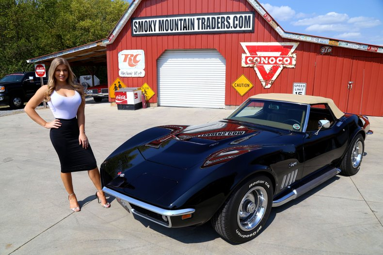 1969 Chevrolet Corvette Stingray - Smokey Mountain Traders