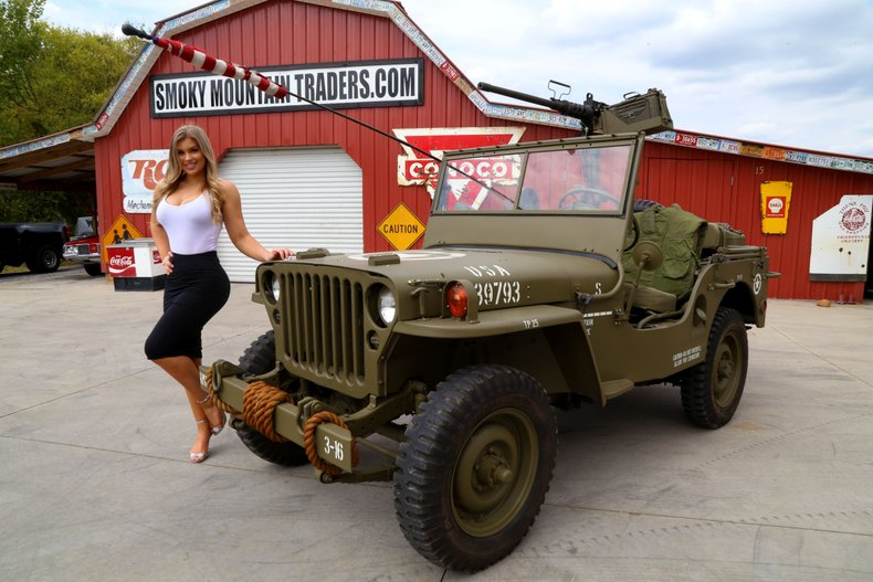 Willys Military Jeep Sale >> 1947 Willys Jeep Cj2a Military Jeep 4 Cylinder 4x4 Countless
