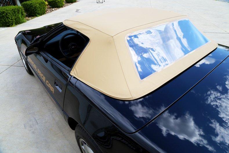 1986 Chevrolet Corvette Pace Car Ebay