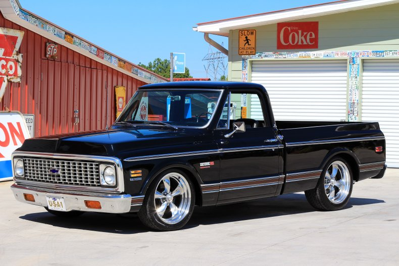 1972 Chevrolet C10 Classic Cars Muscle Cars For Sale In
