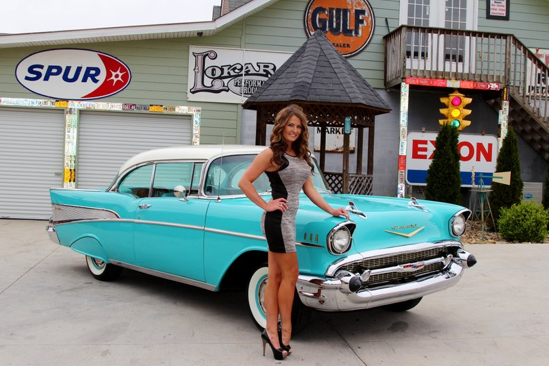1957 Chevrolet Bel Air Classic Cars Amp Muscle Cars For