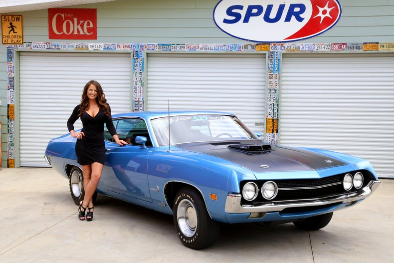 1970 Ford Torino 429 Cobra Jet For Sale 27474 Mcg