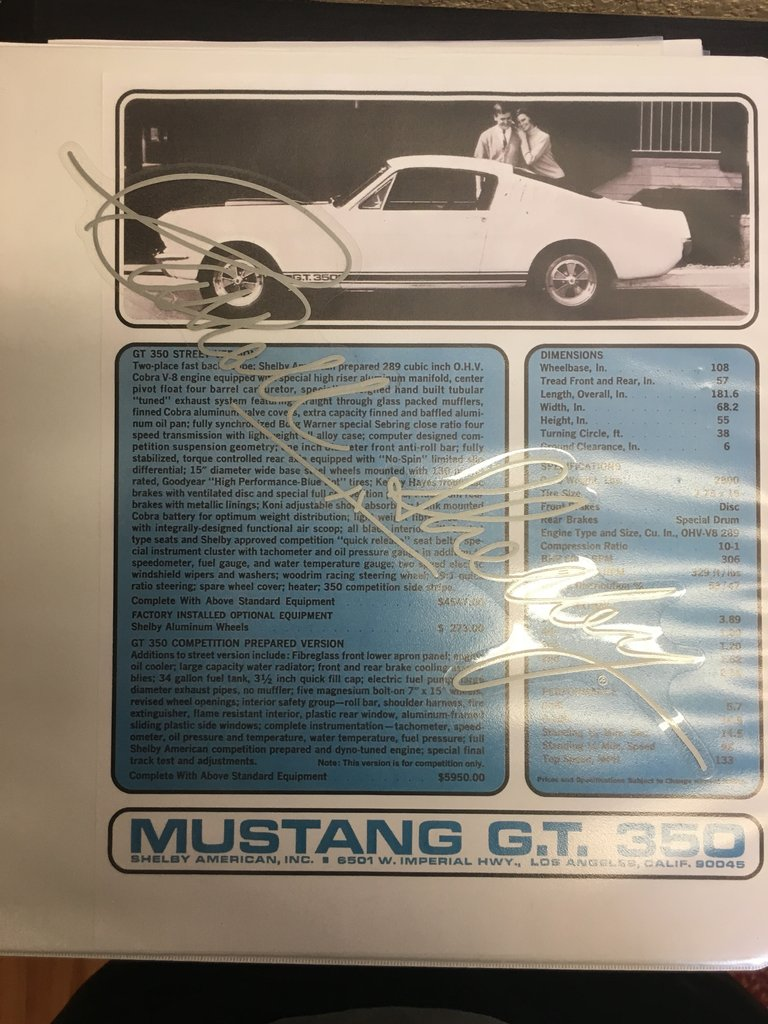 1965 Ford Mustang Shelby GT 350 Clone Built 289 Tremec 5