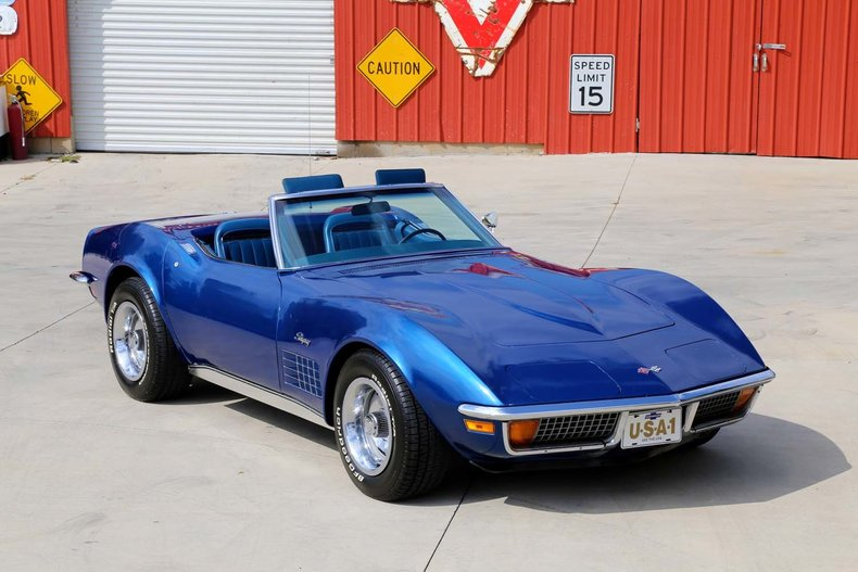 1972 Chevrolet Corvette Classic Cars Muscle Cars For Sale In