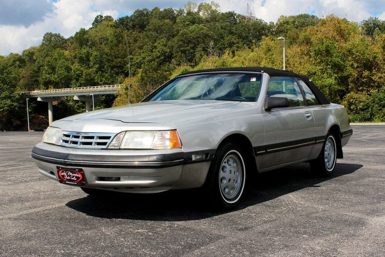 1988 ford thunderbird cold ac 94k original miles 5 0l v8 automatic transsmoky mountain auto sales 1988 ford thunderbird cold ac 94k