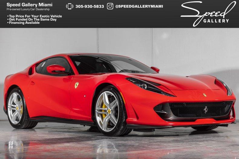 SG49453   2020 Ferrari 812 Superfast   Speed Gallery Miami