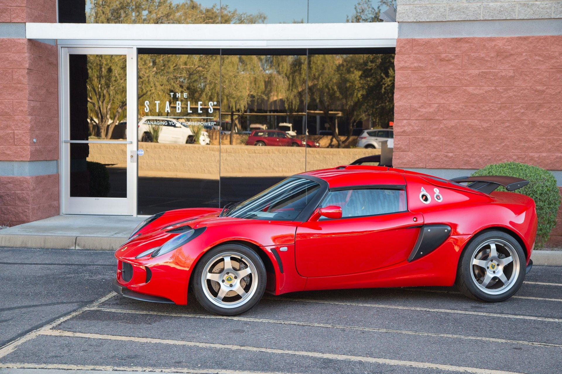 2006 lotus exige s cup car