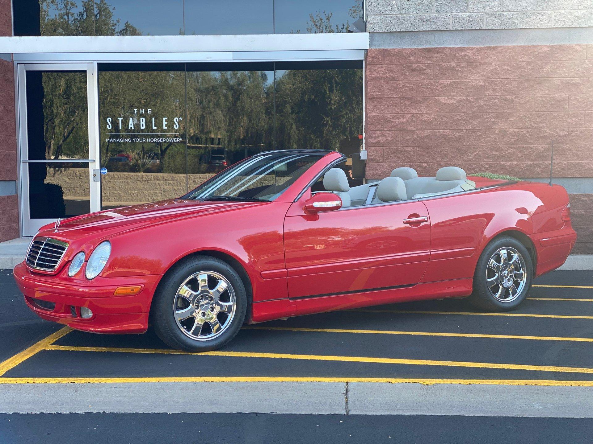 2003 mercedes benz clk320 cabriolet