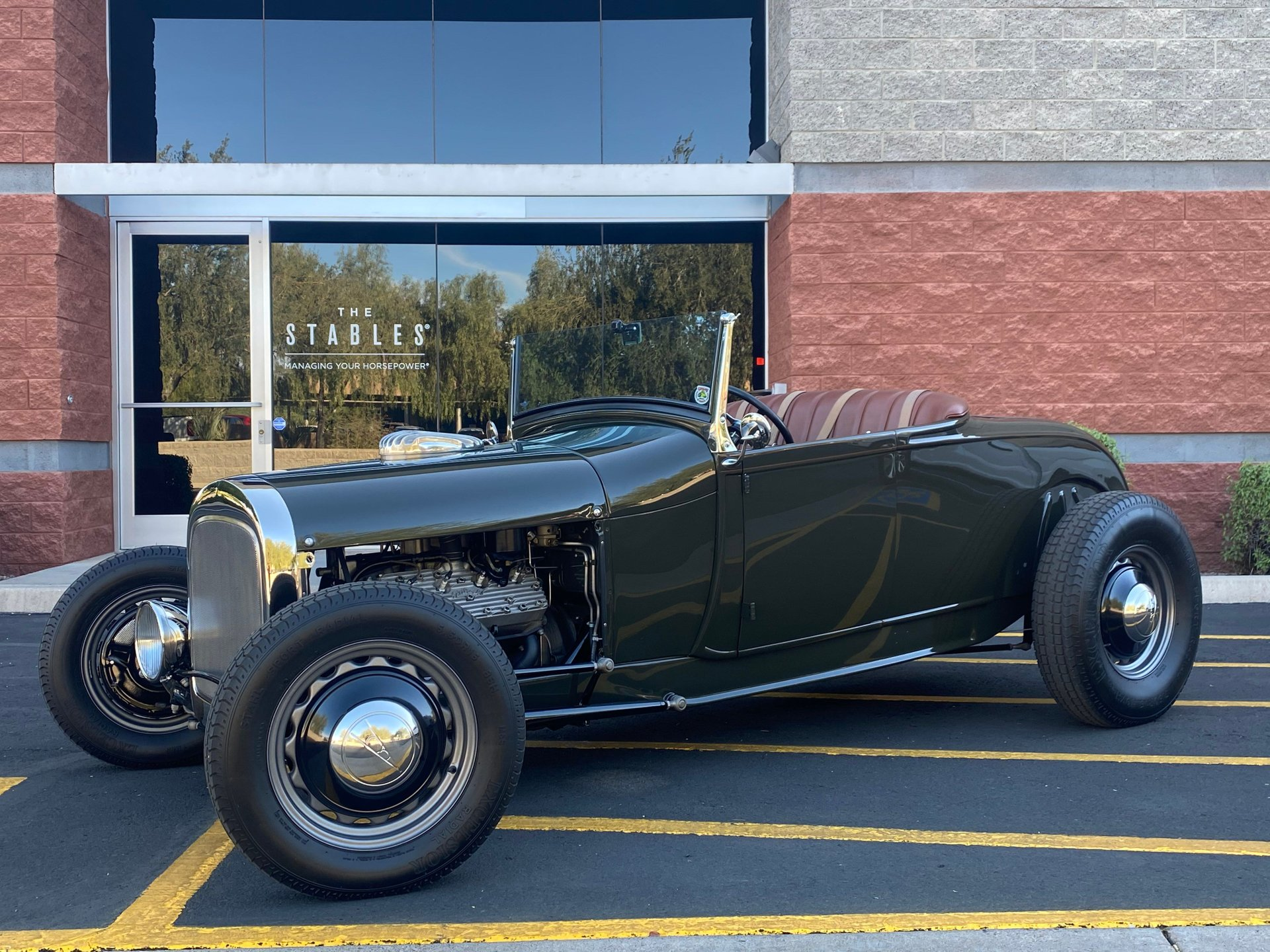1929 ford model a street roadster