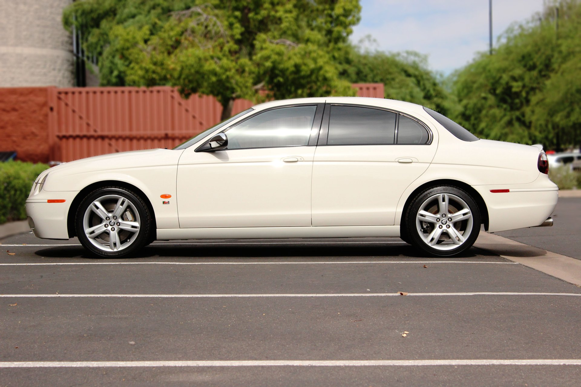 2007 jaguar s type r