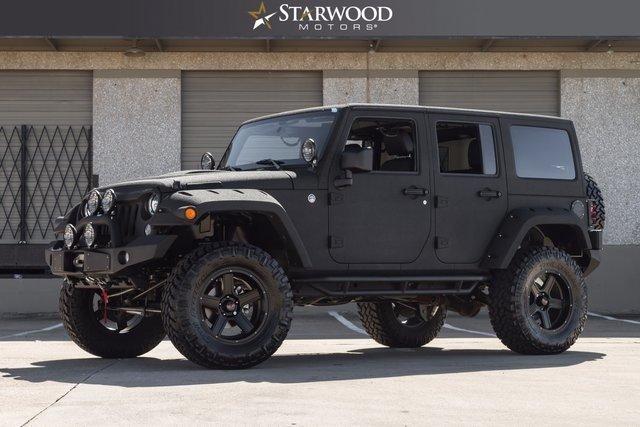 Starwood Motors 4641 Nall Road Dallas TX 75244 Sd Logo 2014 Jeep Wrangler Unlimited Sport