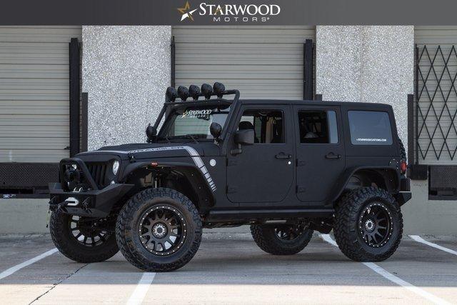 Starwood Motors 4641 Nall Road Dallas TX 75244 Sd Logo 2017 Jeep Wrangler Unlimited Rubicon