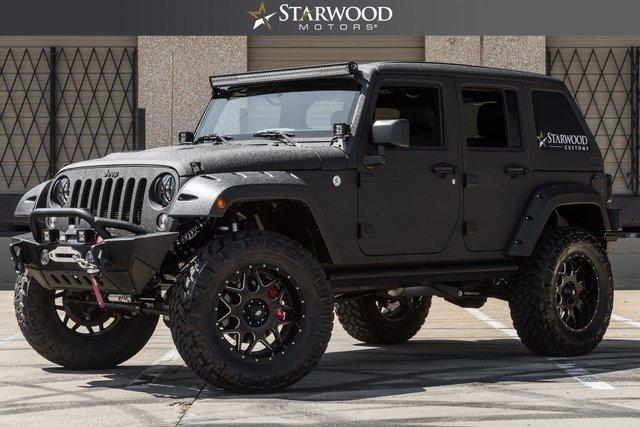 Starwood Motors 4641 Nall Road Dallas TX 75244 Sd Logo 2016 Jeep Wrangler Unlimited